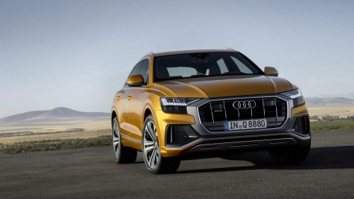 Audi Q8 official pictures 07
