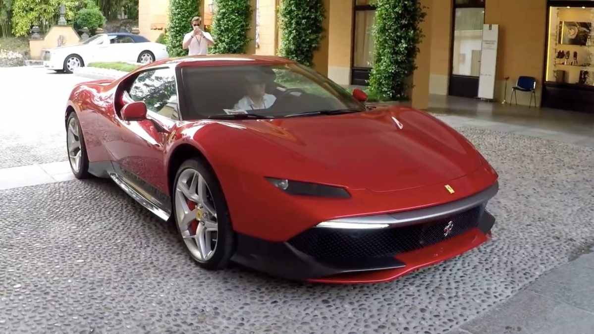 the ferrari sp38 is also called deborah and costs around 4 million. Black Bedroom Furniture Sets. Home Design Ideas