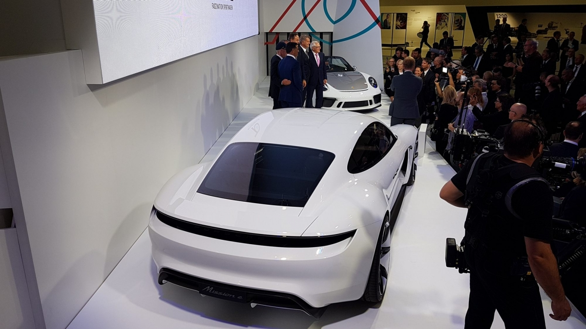 Porsche Taycan Is The Brand S First Fully Electric Vehicle