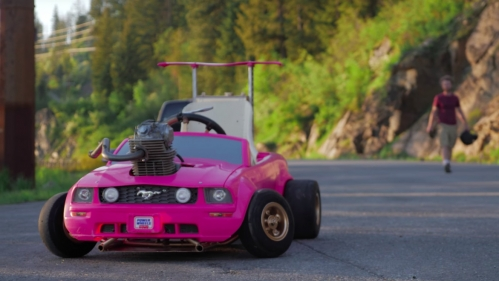barbie-go-kart