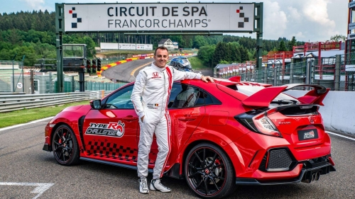 2018 Honda Civic Type R Spa Francorchamps 4