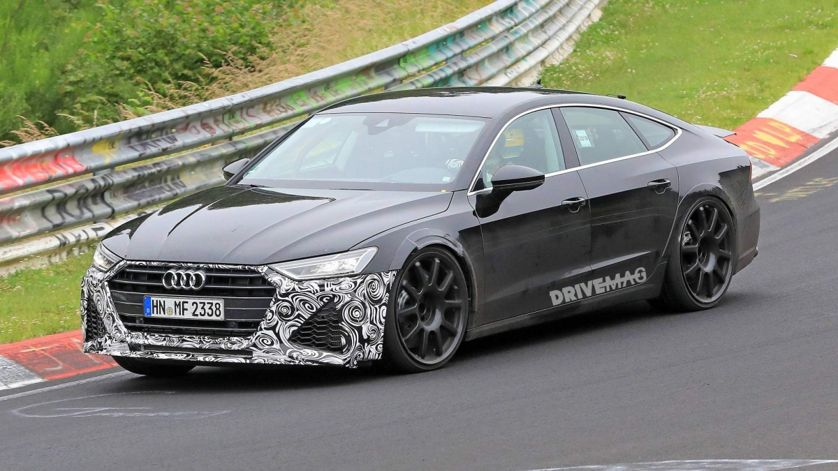 We Spy The Upcoming 2019 Audi Rs7 Sportback On Nürburgring Nordschleife