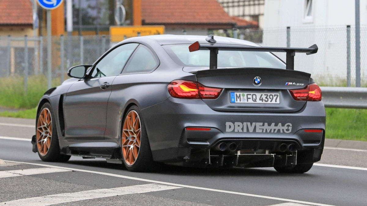 Bmw M4 Gts Spied Testing An Extreme Aero Package
