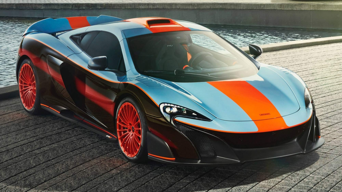 Toyota 86 Livery >> This unique McLaren 675LT features the same livery as 1997 F1 GTR Longtail race car