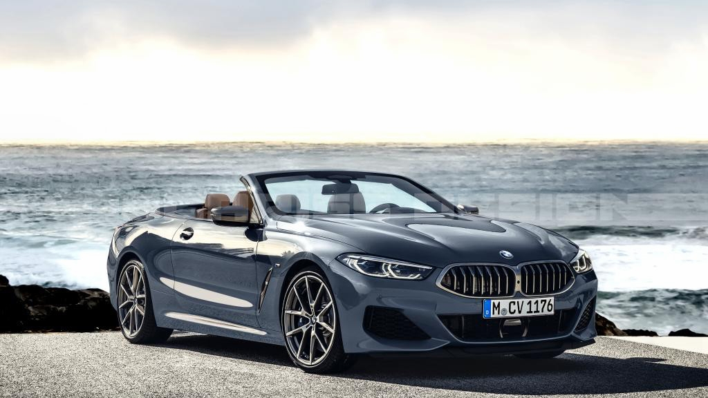 2019 BMW 8 Series Coupé turned cabriolet