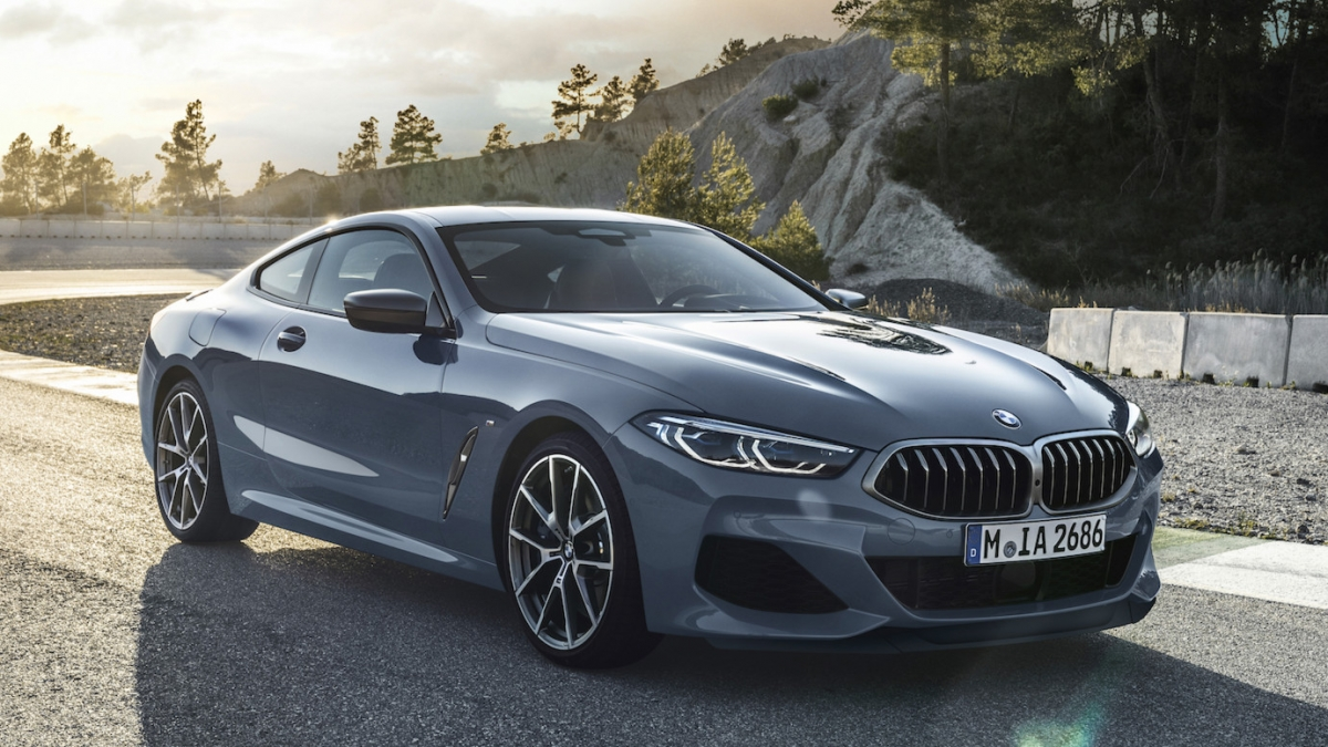 new 2019 bmw 8 series coupe xdrive front