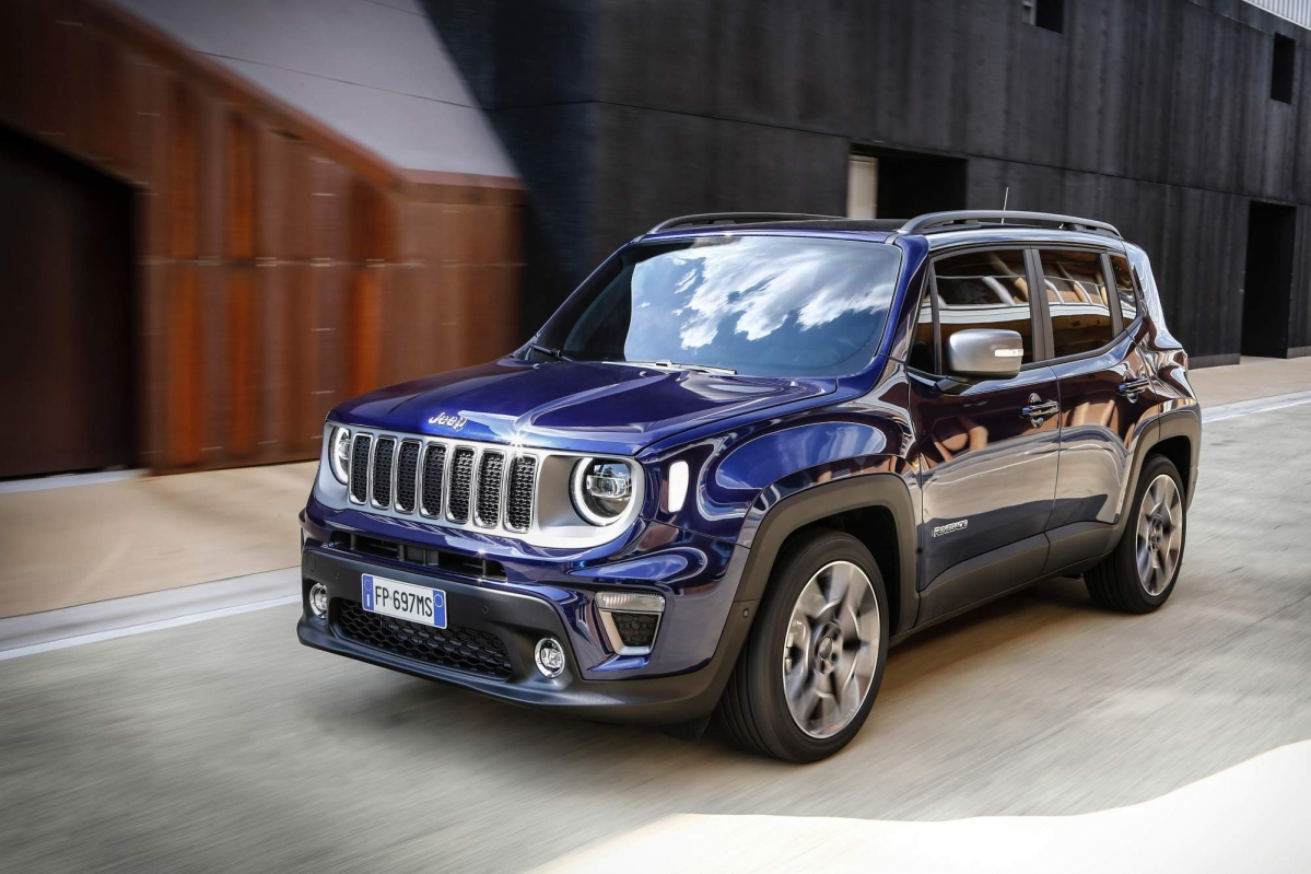 jeep releases full details on the facelifted 2019 renegade for europe. Black Bedroom Furniture Sets. Home Design Ideas