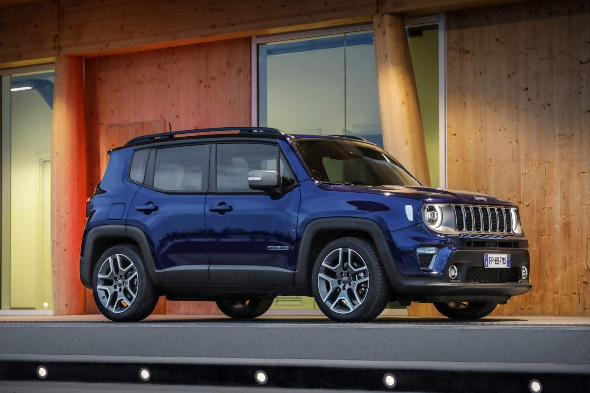 jeep releases full details on the facelifted 2019 renegade for europe