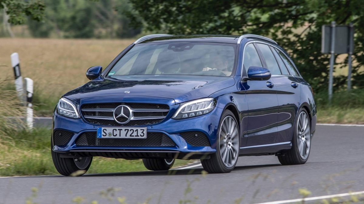 Mercedes Benz Details Facelifted C Class Family S Engine Lineup