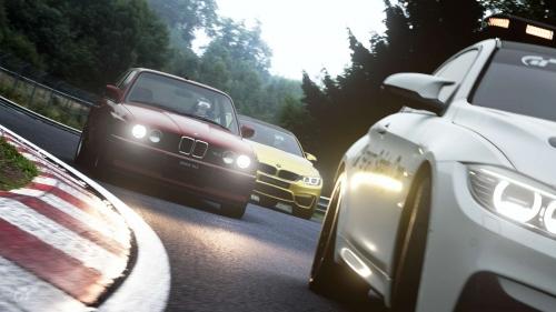 BMW M3 E30 + M4 + M4 Safety Car