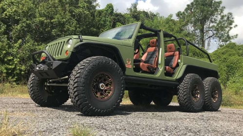 Bruiser Conversions Jeep Wrangler 6x6 1