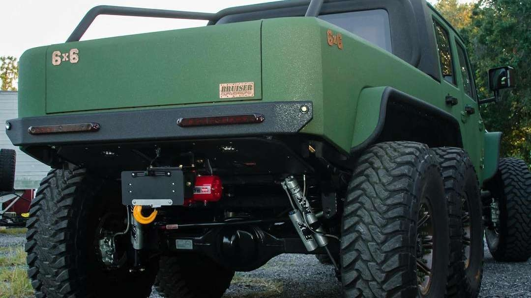 Bruiser Conversions Jeep Wrangler 6x6 3