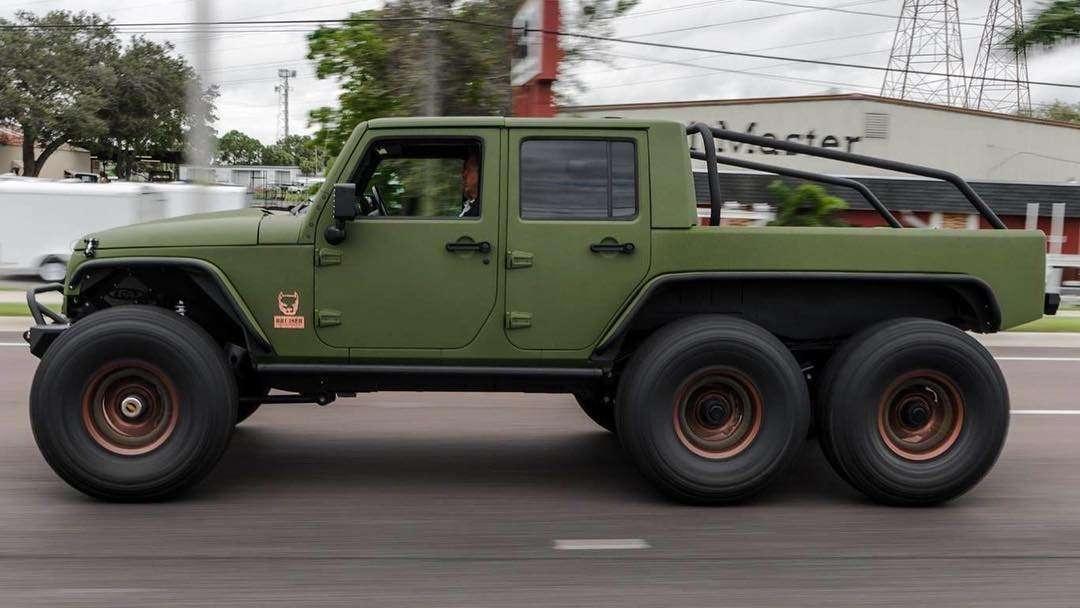 Bruiser Conversions Jeep Wrangler 6x6 4