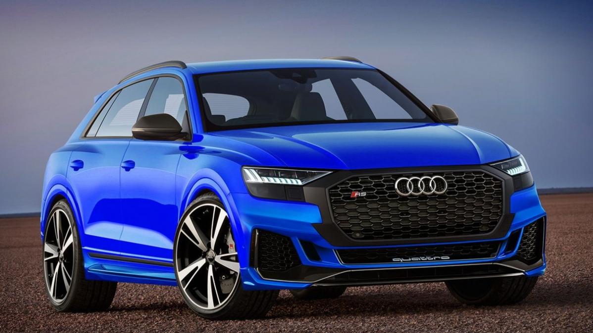Audi RS Q8 To Bag V8 Hybrid Powertrain
