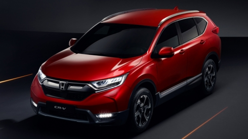 new 2018-2019 honda cr-v front