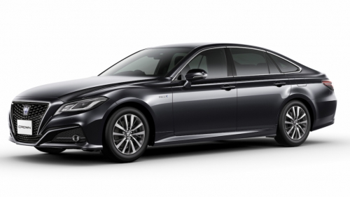 new toyota crown sedan front
