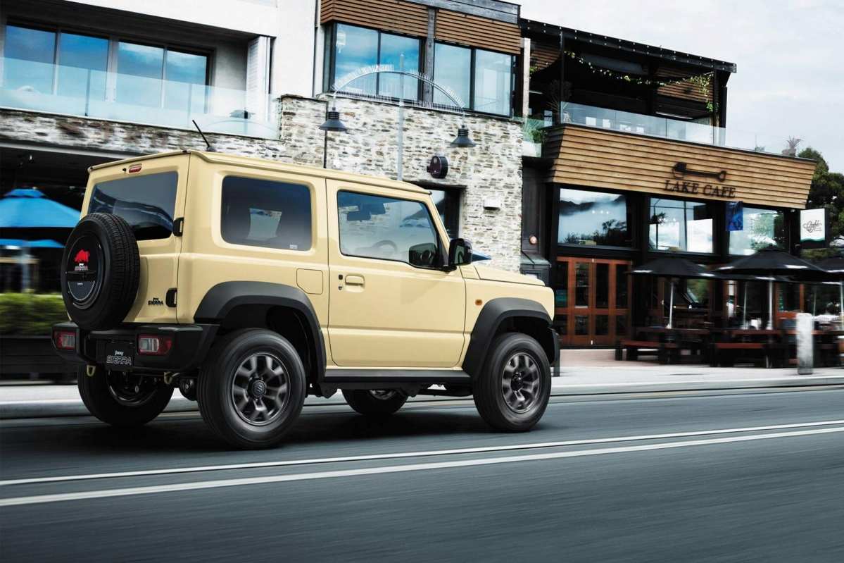 Suzuki releases full details about all-new 2019 Jimny small off-roader