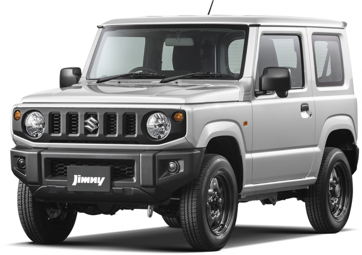 suzuki releases full details about all new 2019 jimny small off roader. Black Bedroom Furniture Sets. Home Design Ideas
