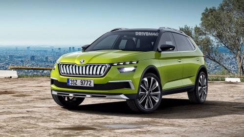 Skoda-small-SUV-rendering-0