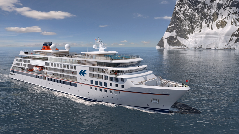 VARD's Expedition Cruise vessel for Hapag Lloyd