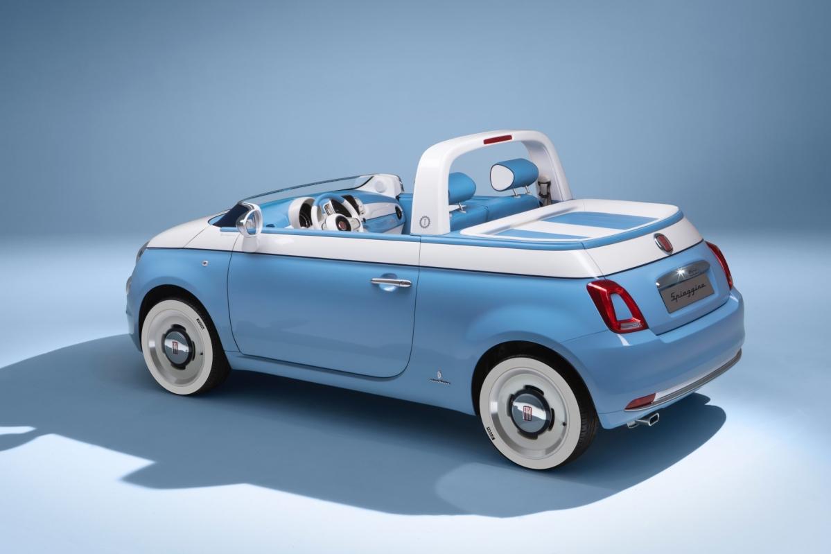 Fiat Celebrates 60th Anniversary Of The 500 With Spiaggina