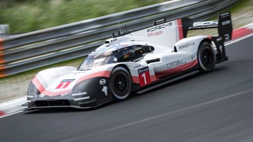 porsche 919 hybrid evo nurburgring record front