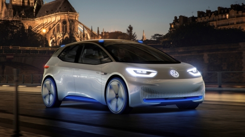 volkswagen id electric car-sharing
