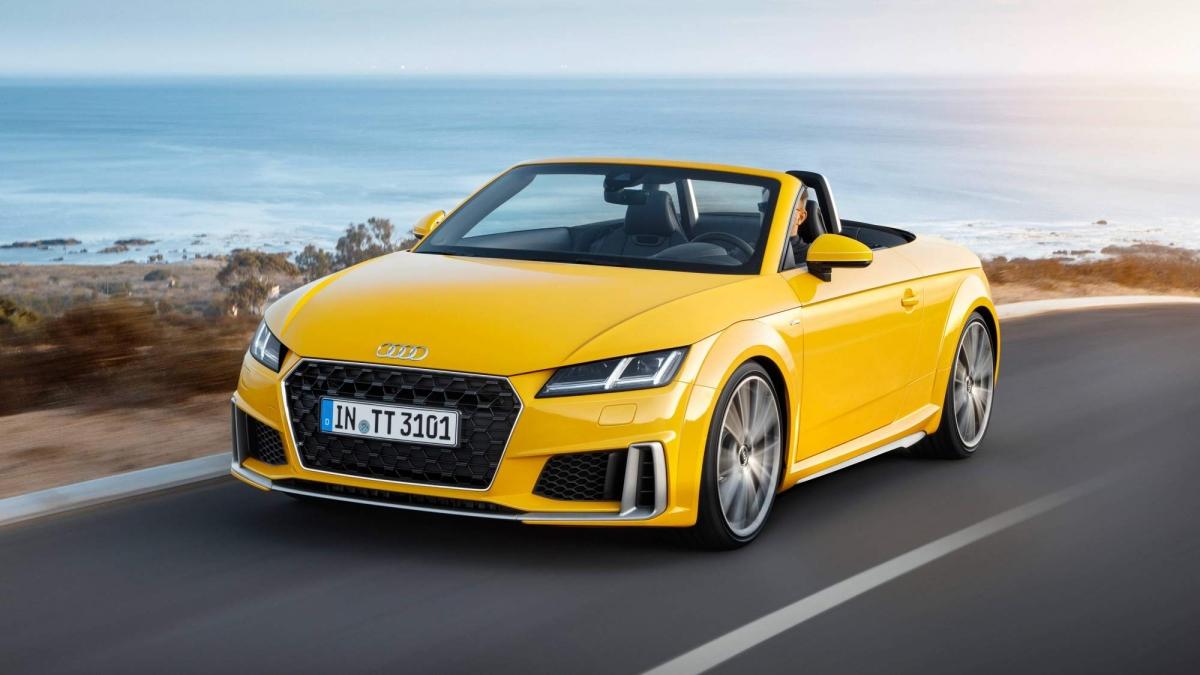 Audi Reveals Subtly Facelifted TT Coupé And TT Roadster - Audi tt roadster car cover