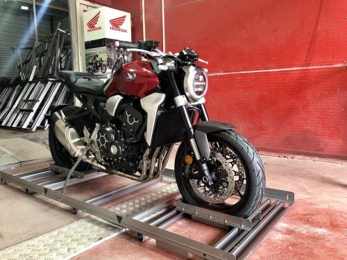Honda CB1000R unboxing