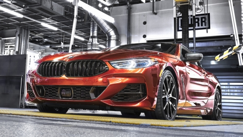 bmw 8 series coupe dingolfing production front