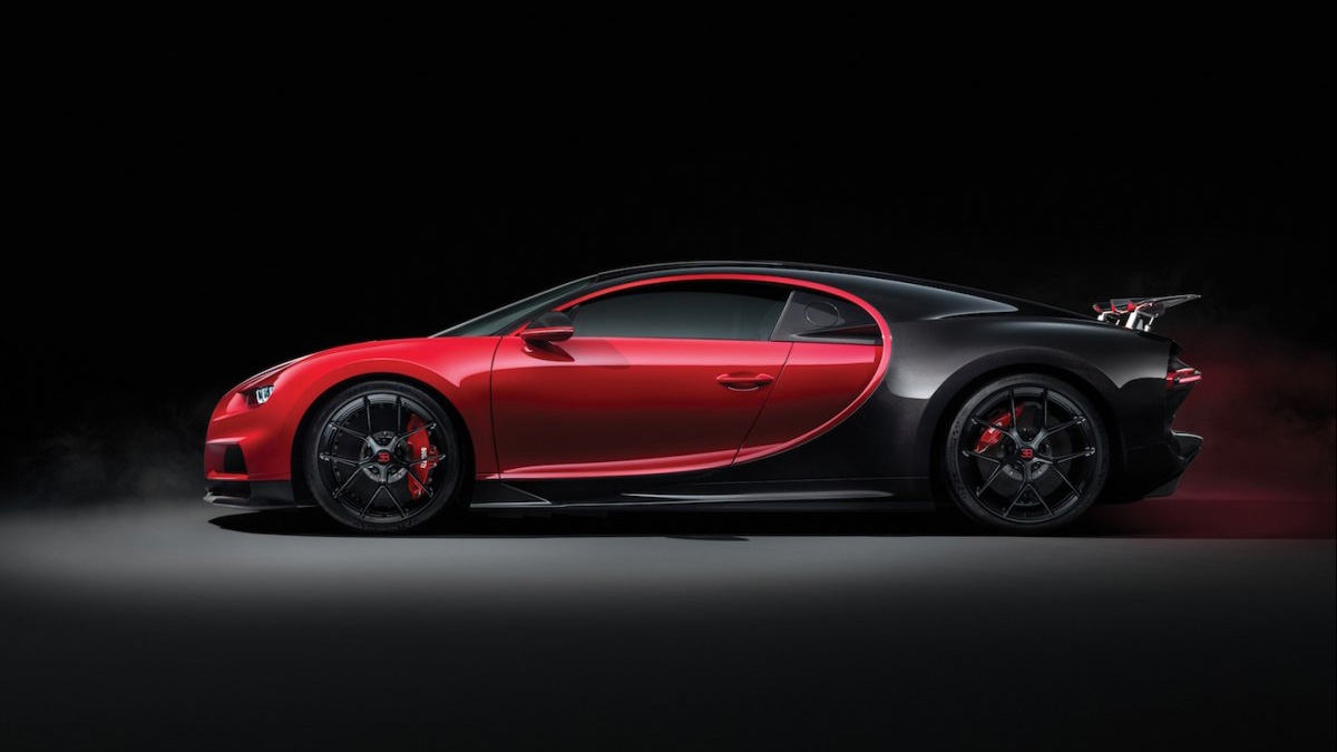 First details on Bugatti Chiron Divo surface