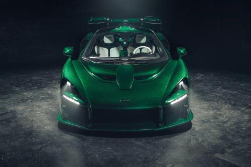 mclaren senna green emerald carbon fiber 3