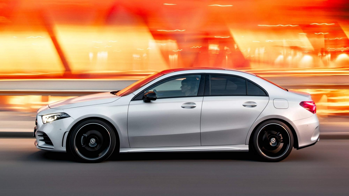 2019 mercedes benz a class sedan officially unveiled for Mercedes benz offers