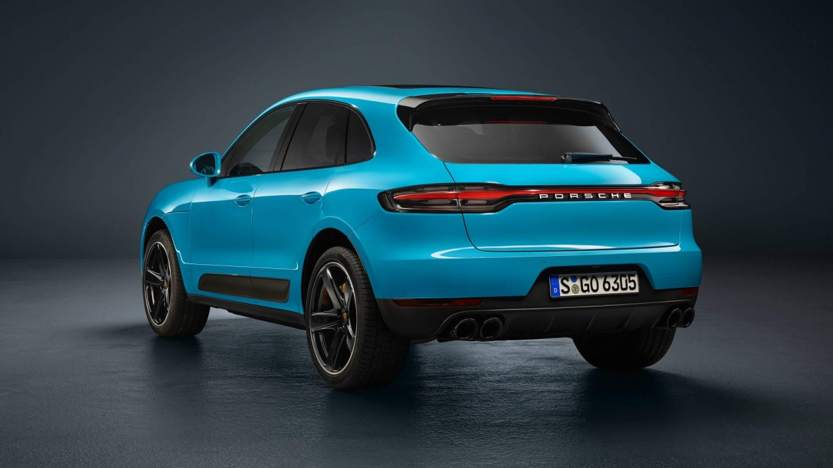 2019 Porsche Macan Facelift Officially Revealed