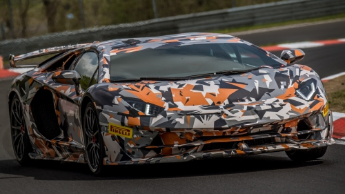 aventador svj nurburgring record