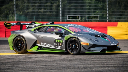 lambo huracan super trofeo r 10th edition
