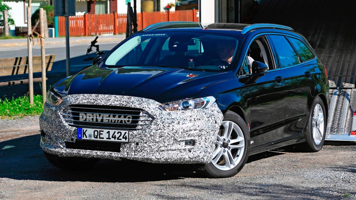 spy  facelifted  ford mondeo