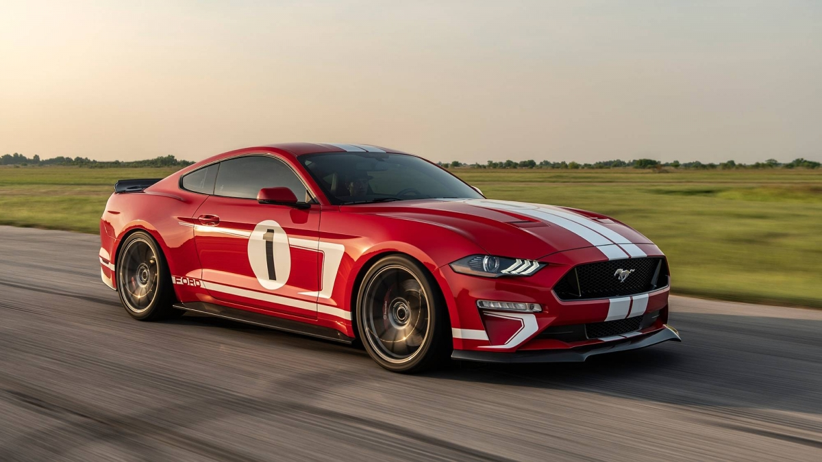 hennessey heritage edition mustang   limited edition  hp muscle car