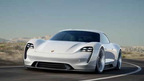 2019 Porsche Taycan Mission E 007