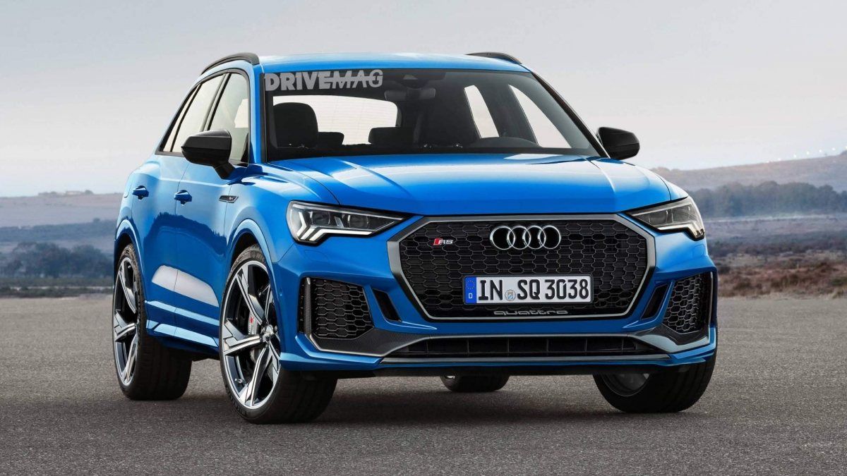 Audi Q3 Next Generation >> We imagine the upcoming 2020 Audi RS Q3 performance SUV