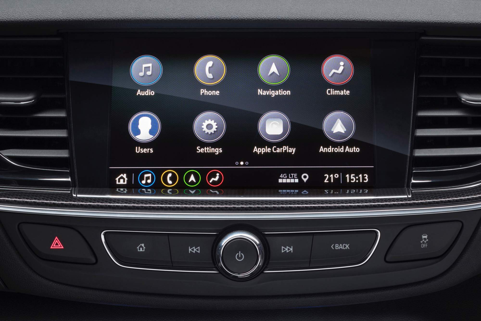 opel and vauxhall add new 200 hp 1 6l turbo four to the insignia family rh drivemag com Cluster Infotainment Infotainment Center