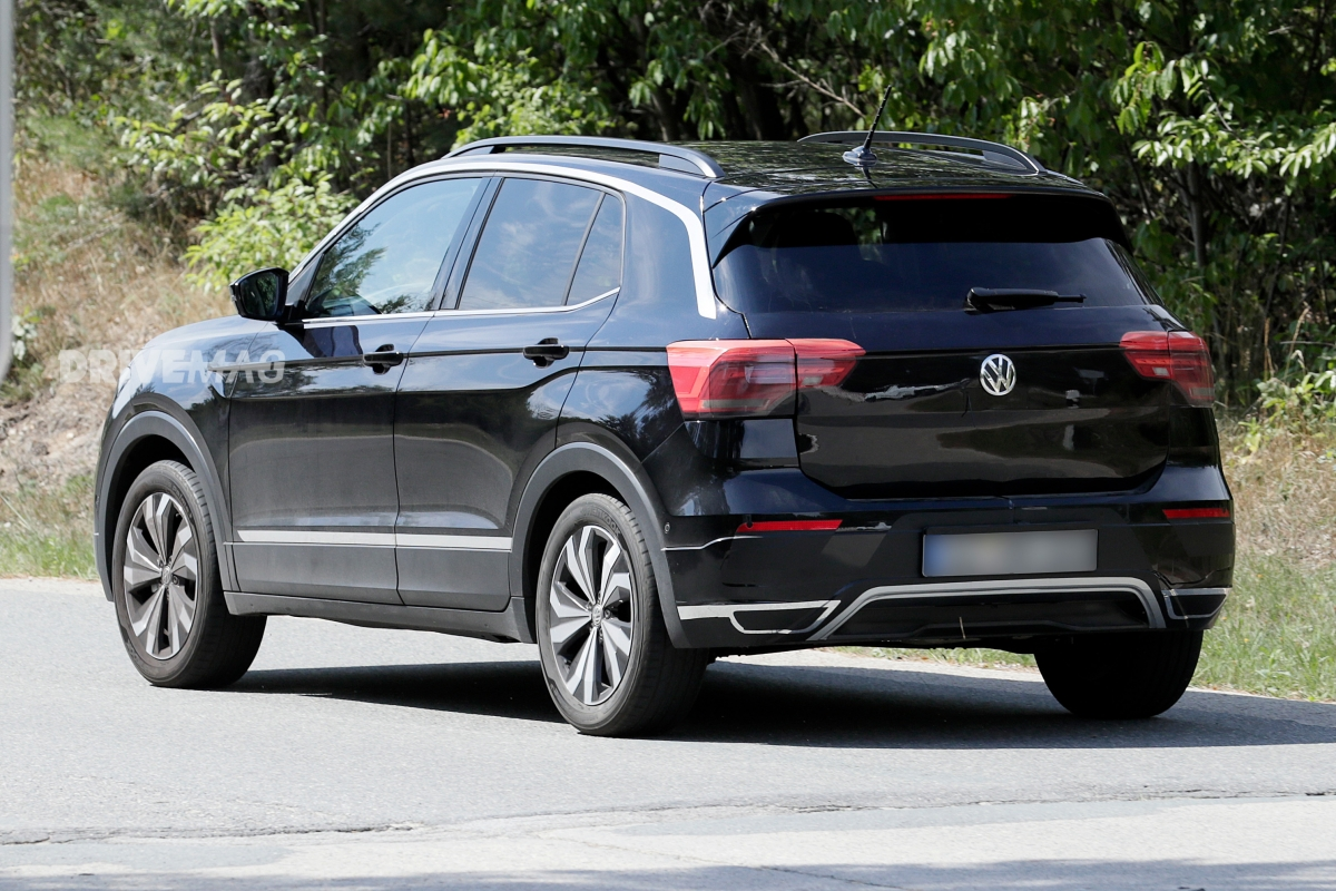 2019 Vw T Cross Spied
