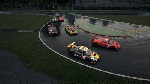 assetto corsa competizione rainy race