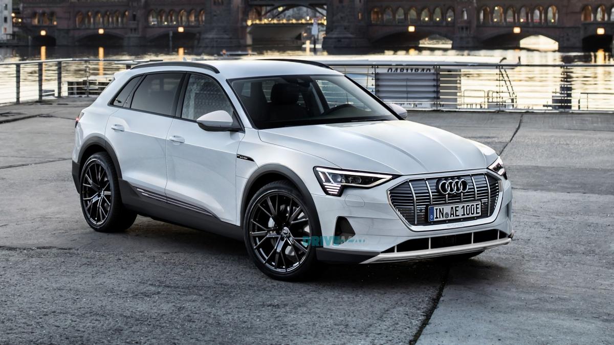 Toyota San Francisco >> 2019 Audi e-tron rendered