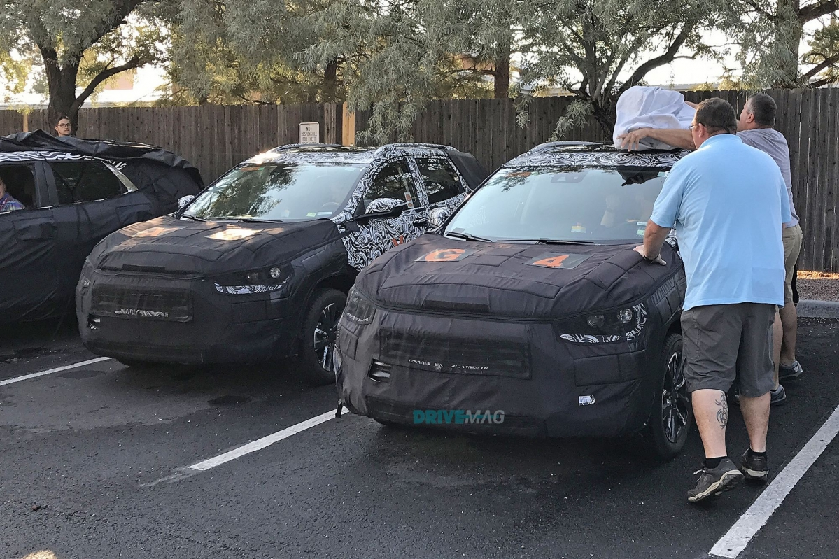 Spied: 2020 GMC Granite, Buick Encore and Chevrolet Trax