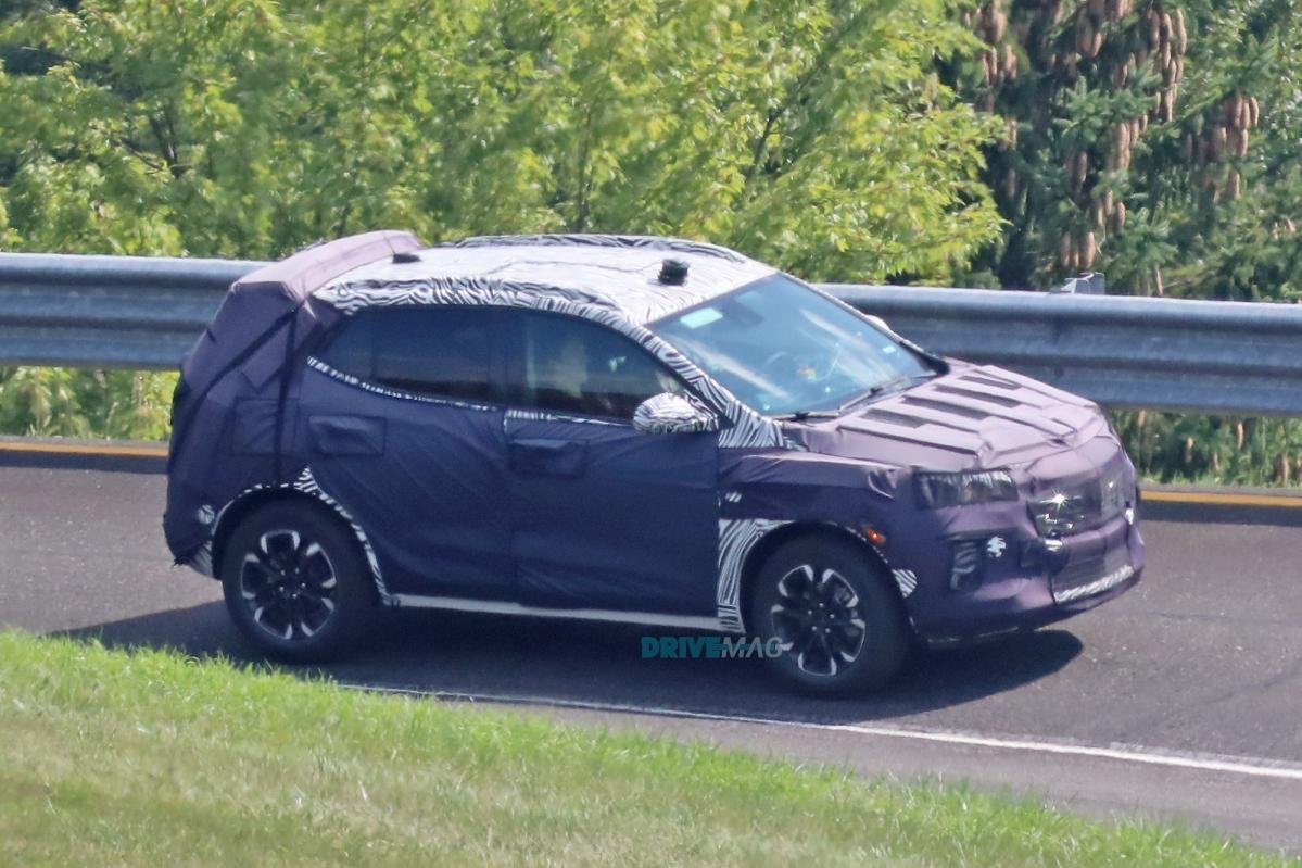 Spied: 2020 GMC Granite, Buick Encore and Chevrolet Trax