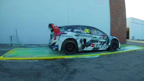 ford focus rs rx rallycross dish soap