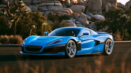 rimac c-two california front