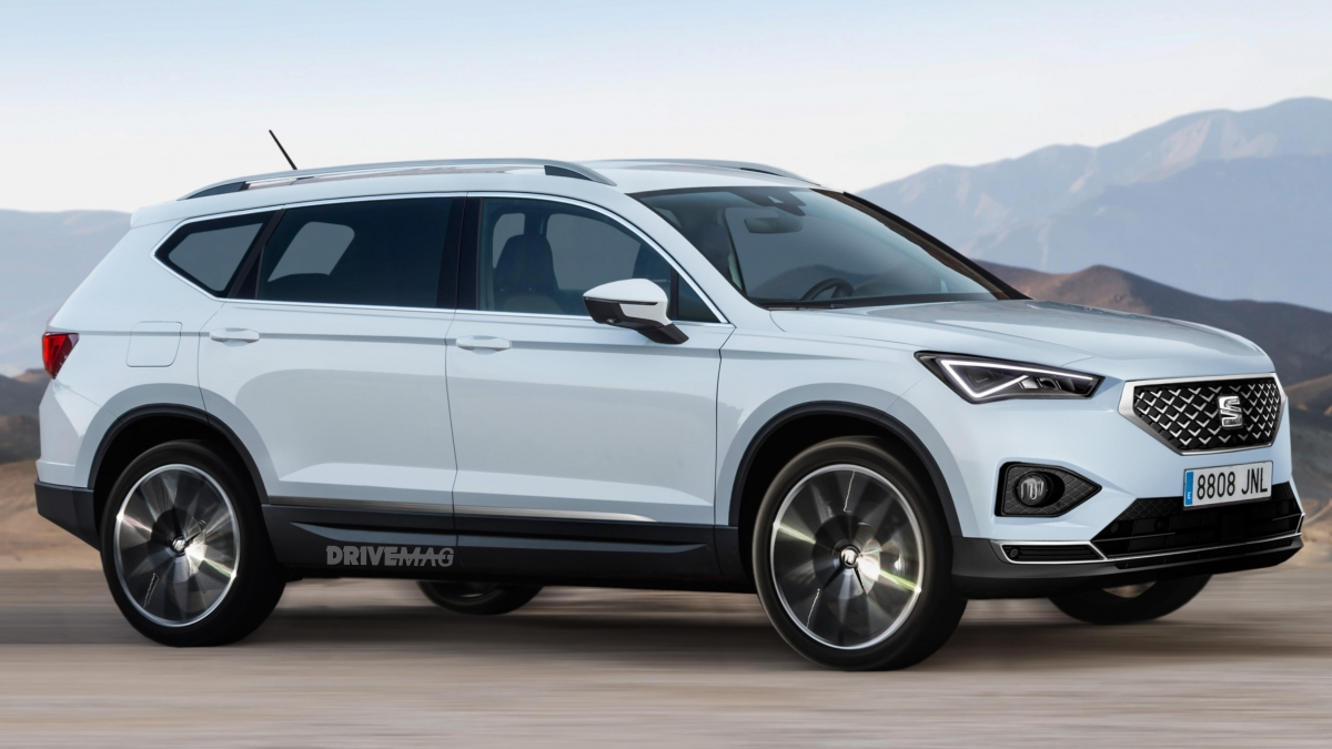 2019 Seat Tarraco Rendered