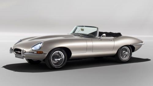 Jaguar Classic E-type Zero electric 01